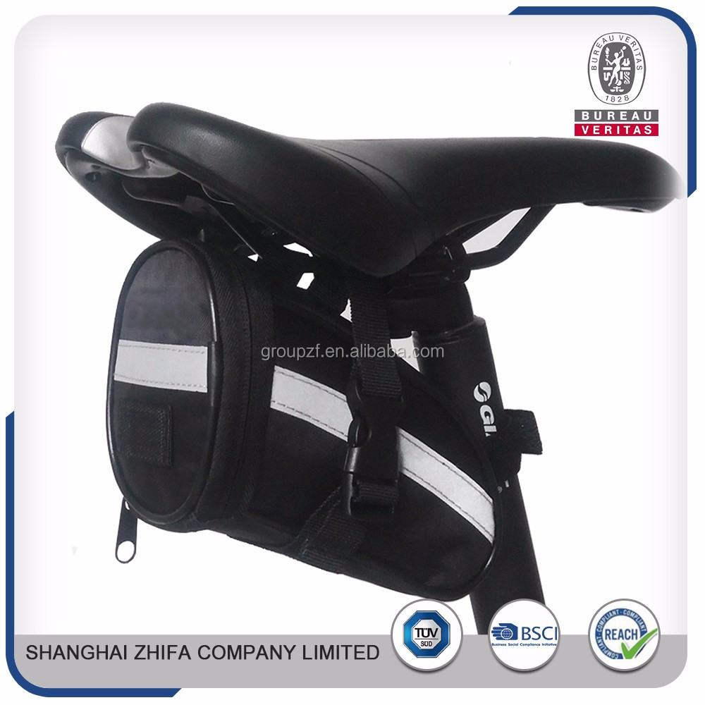 Alibaba express factory supply road top tube bag rear saddle bags for bicycles triathlon bike case