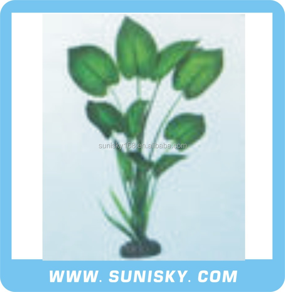 Various Styles Aquarium Silk Plants