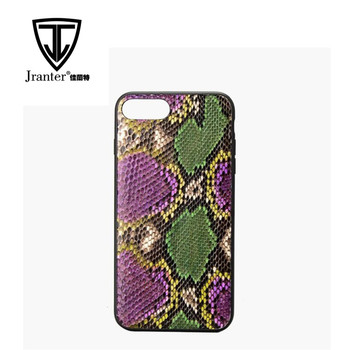 OEM/ODM Real python skin case for iphone 6 , Case Smartphone For Phone Case iPhone 7