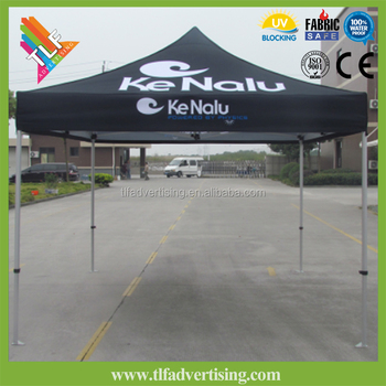 10x10 Advertising White Canopy Tent