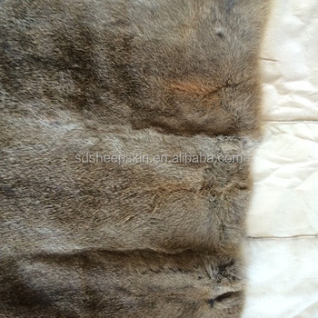 Genuine Rabbit Fur Area Rug Home Splicing Rabbit Rug Carpet Blankets