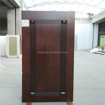 Waterproof And Soundproof Interior Door Wood Veneer Door With Frame