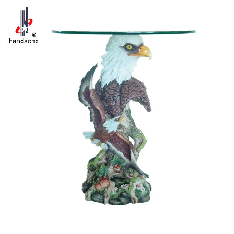 18 Inch Resin Sculpture Garden Statues eagle