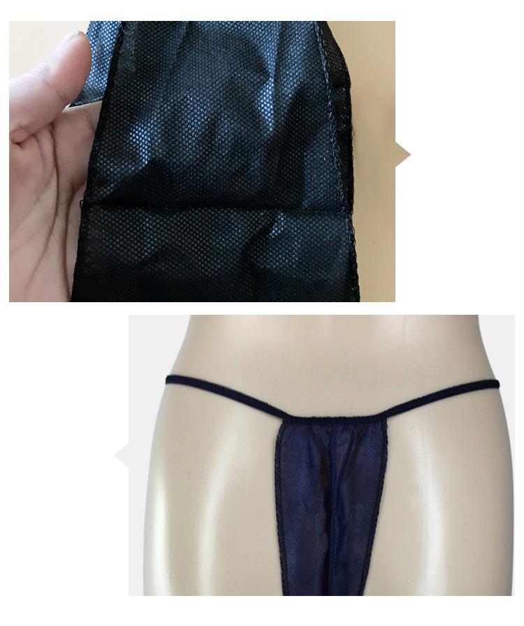 2c7c0f52c672 Spa beauty salon non woven massage underwear disposable t-back/g-string/