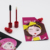 New design tiny cosmetic sachet packaging pouch with lip stick spout