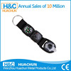 2015 new design custom led compass keychain with thermometer