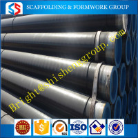 Construction Materials Weld And Seamless Carbon Black Steel Pipe ASTM53