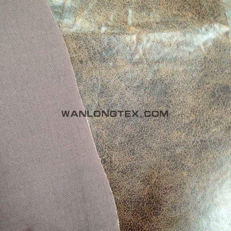"Upholstery Suede Micro 58"" Wide Leather Brown Drapery Sofa Chair Fabric"