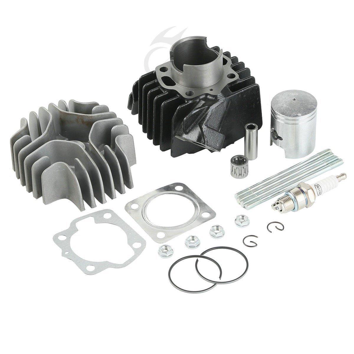 Homyl Replacement Piston Ring Cylinder Gasket Kit for Suzuki JR50 LT50 ALT50 LTA50