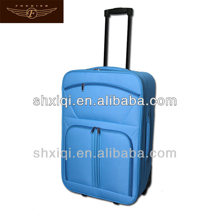 "2-wheels polo luggage size 19"" 23"" 27"" trolley case luggage upright"