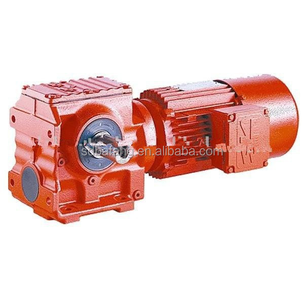 S series high speed reducer A variety of design
