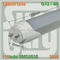 DLC FCC ETL cETLus led tube pricing natural white fluorescent t8 led tube 58w replacement