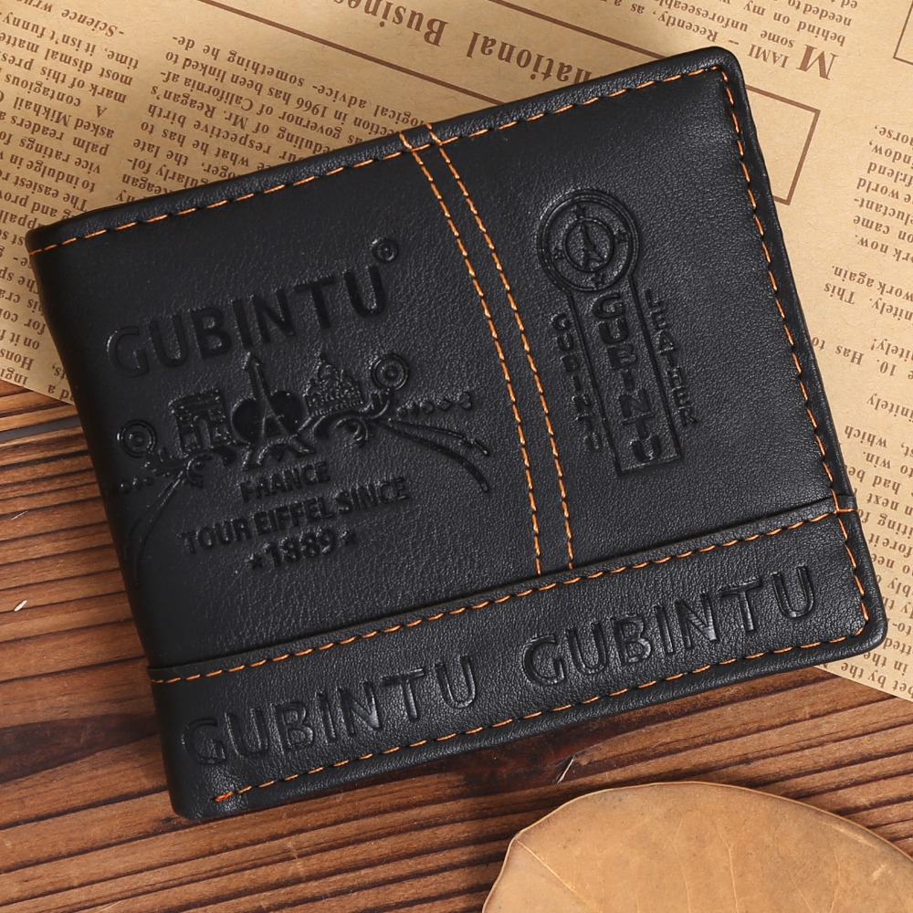 Very hot sell fashion young man <strong>wallet</strong> biford short <strong>wallet</strong>