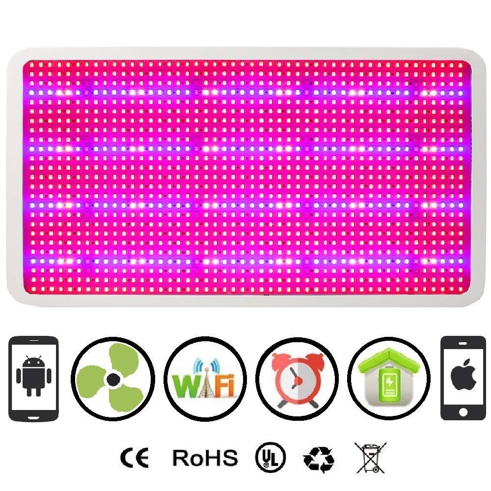 Cultivation Rx WiFi 2400W LED Smart 1200XL Chip Grow Light Panel for Indoor Hydroponic Grow Garden