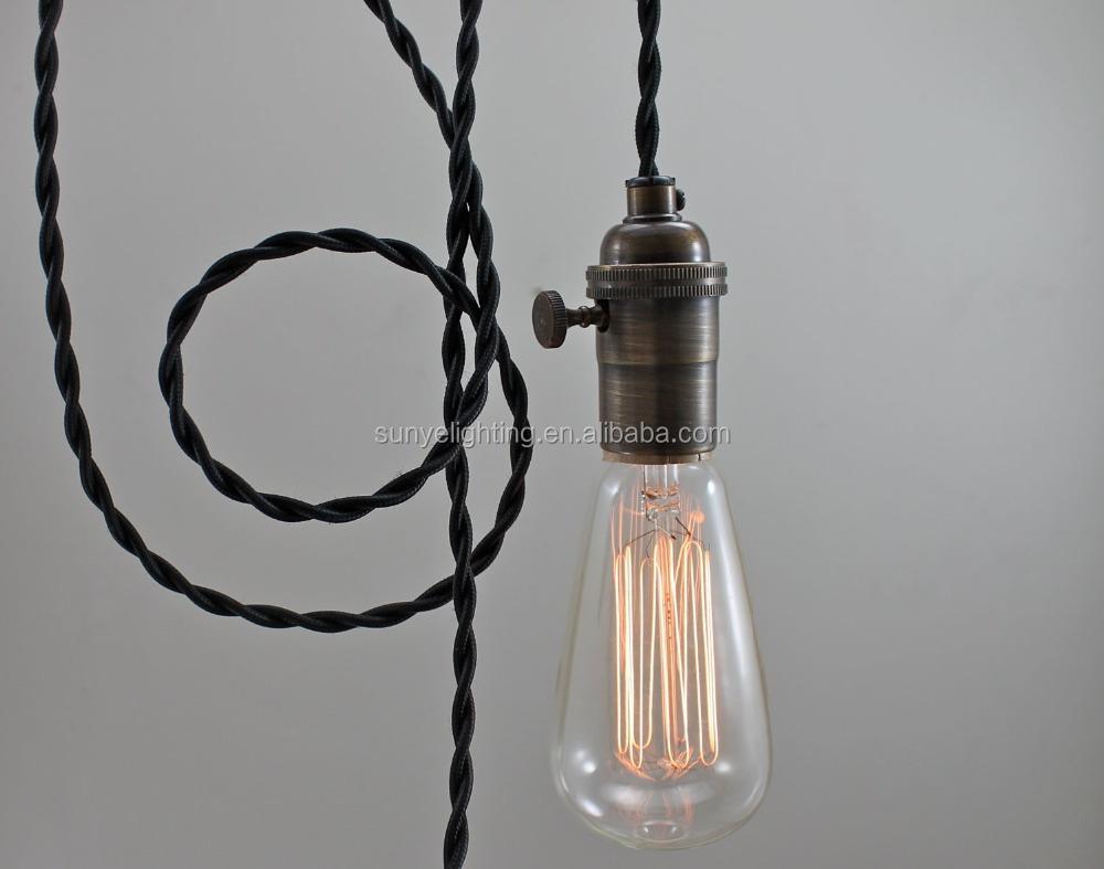 Ottone antico Lampada A Sospensione Vintage/parti della lampada ...