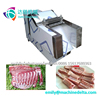 Labor-saving meat cutting machine for poultry with bone to be meat cube