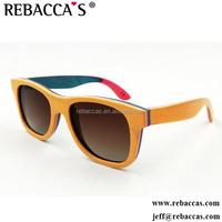 2017 New arrive handmade wood sunglasses,China factory wood sunglasses dropshipping