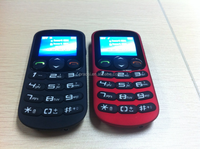 1.77 inch Cheap GSM Unlocked Single Sim Senior Cell Phone Elder Phone Largest Mobile Phone Manufacturers
