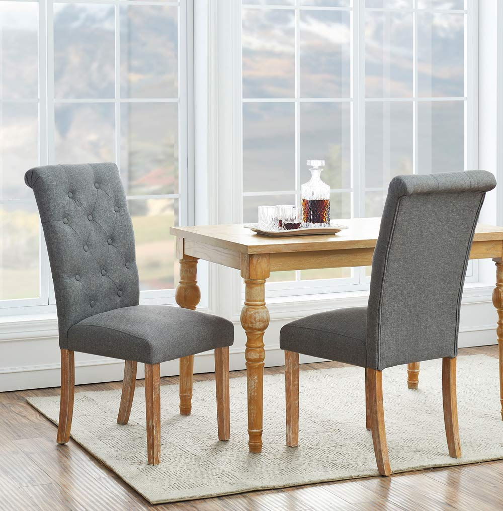Buy Clairborne Tufted Dining Chair, Set of 2, Multiple ...