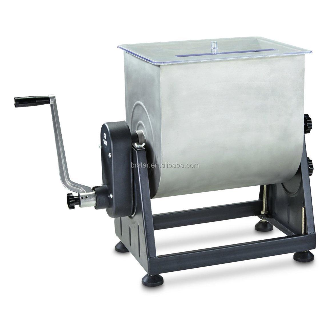 7 gallon elettrico robot da cucina/tritacarne elettrico collegare mixer carne