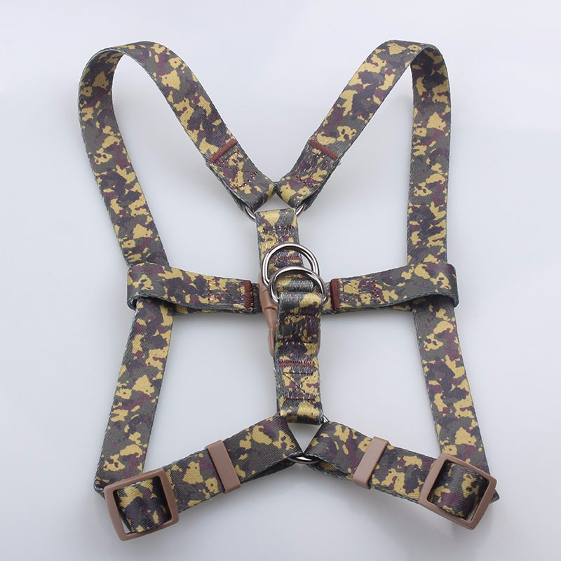 Factory Wholesale Polyester Custom Print Dye Sublimation Service Dog Vest Harness With Sample Free