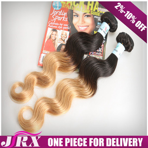 Quick Lead Yellow Cheap Virgin Remy Extension Blonde Blond Highlighted Hair Extensions