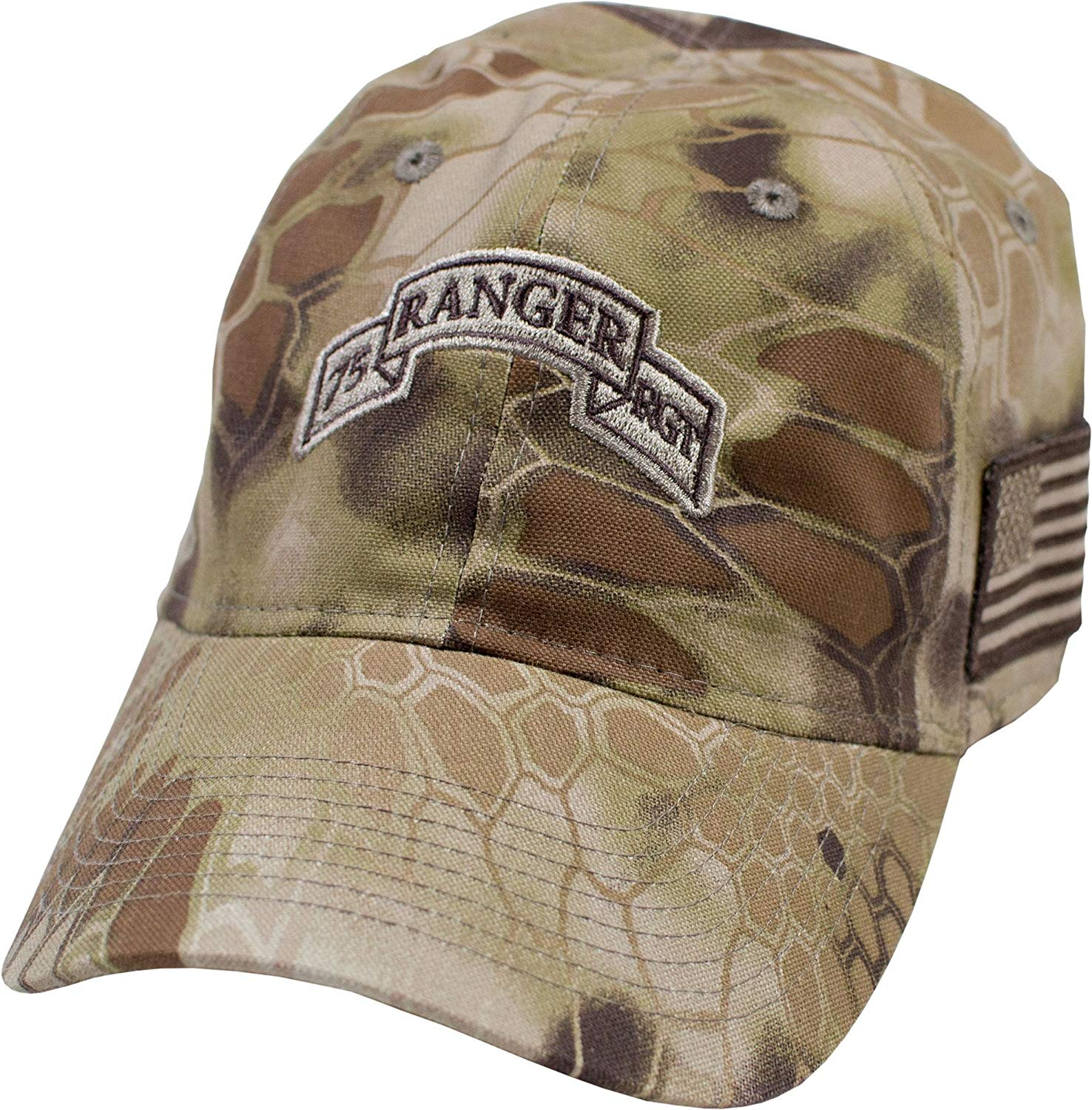 99ae729892c27 Get Quotations · Military Shirts U.S. Army 75th Ranger Regiment Kryptek  Camo Cap