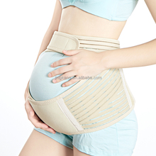 Factory free sample maternity belly band back support waist band prenatal baby/bump/back belly brace strap