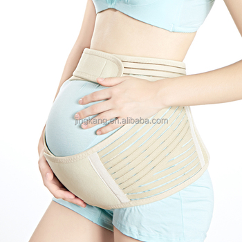 83cbc040975 Factory free sample maternity belly band back support waist band prenatal  baby bump back