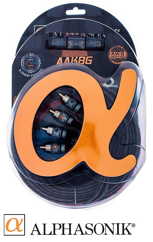 Cheap American Wire Gauge Standard Find Car Amplifier Wiring Kit Get Quotations Alphasonik Aak8g Premium 8 Complete Installation Hyper Flex Power