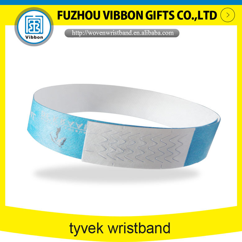 custom tyvek band for promotion
