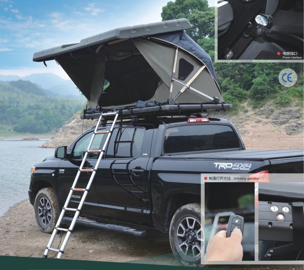 Jwy-005a Best Automatic Suv Hard Shell Roof Top Tent For Camping - Buy Hard  Shell Roof Top Tent,Hard Top Roof Tent,Roof Tent Product on Alibaba com