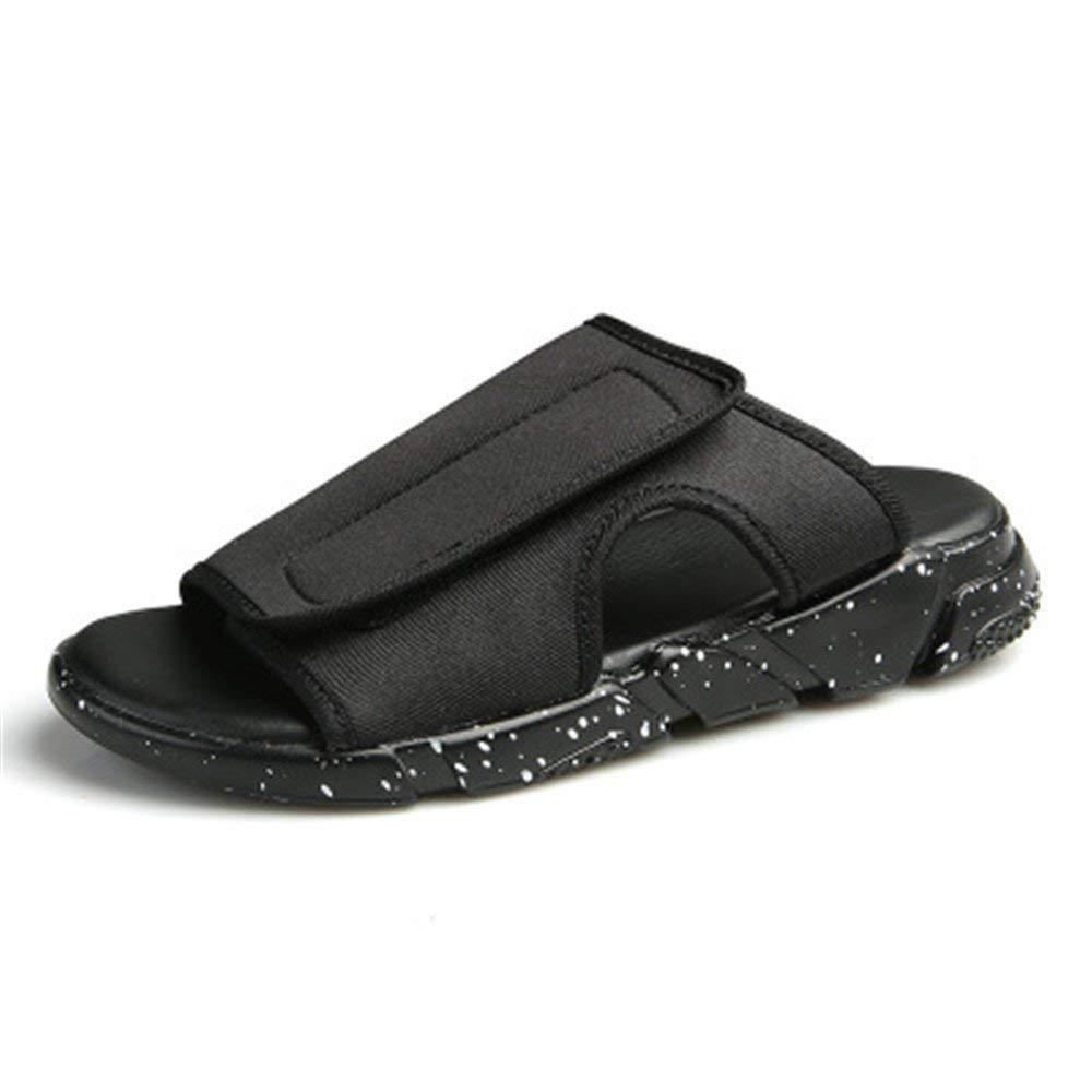 Smart.A 2018 Men's Sandals Casual Summer Slippers Shoes Men Rubber Platform Sandals Beach Flip Flops for Men Sandalias