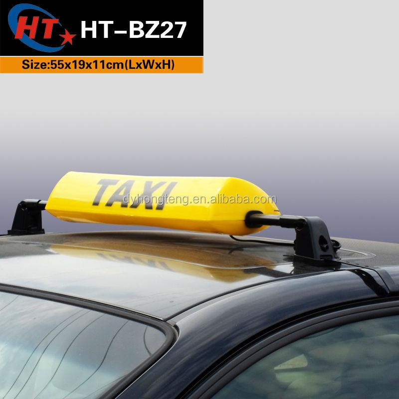 Super heldere gele kleur led lampen taxi dak tekenen for Gele lampen auto