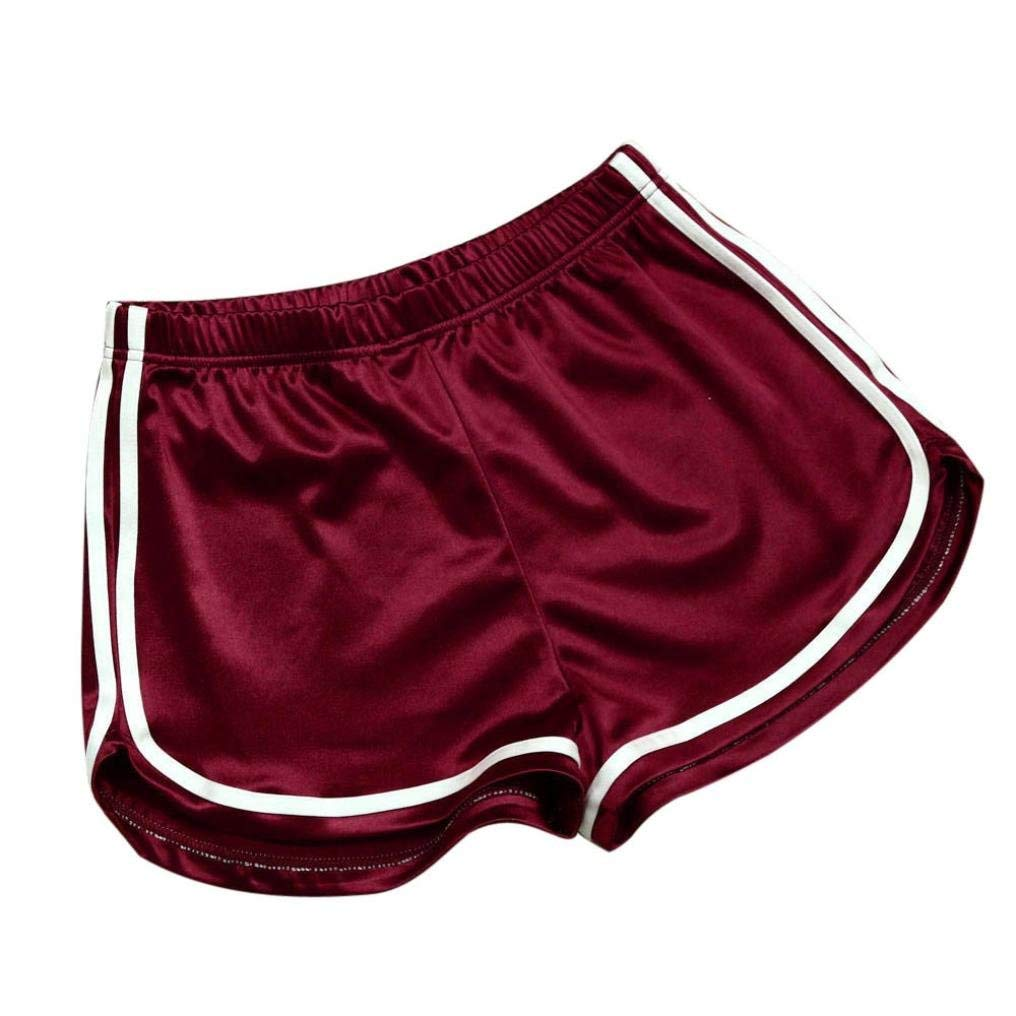 Clearance!Women Yoga Shorts, New Summer Pants Women Sports Shorts Gym Workout Yoga Short