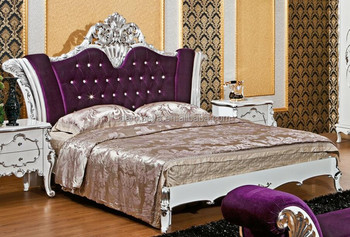danxueya double bed design furniture,italian style carved ...