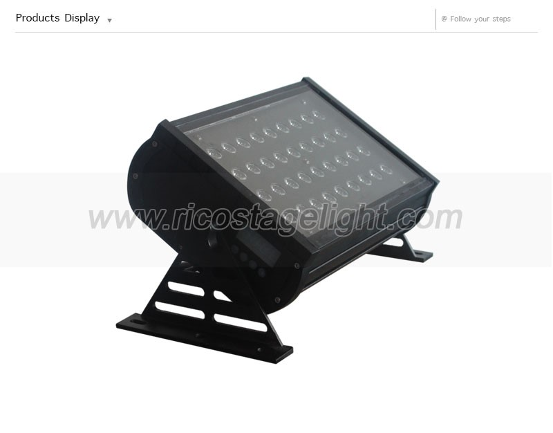 Outdoor Led Project Ip65 Dmx Dimming 36*3w Rgb China Led Wall ...