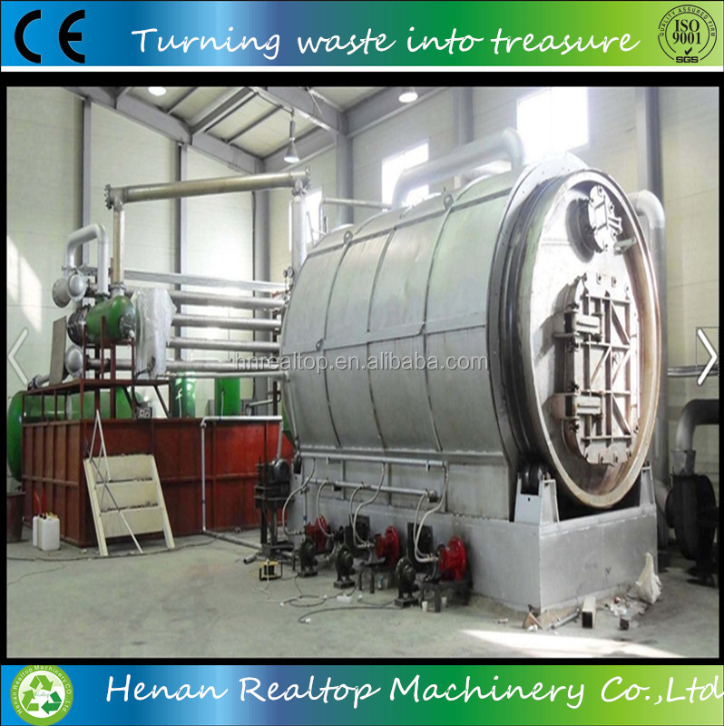 Waste To Energy Power Plants Waste Tire Recycling To Oil Pyrolysis ...