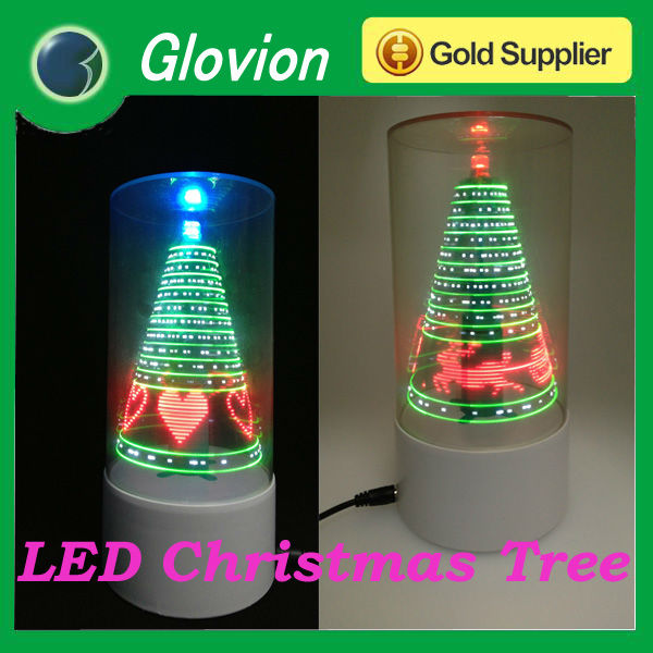 Nuevo producto led iluminado sauce arbol de navidad usb - Arbol navidad led ...