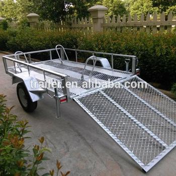 8x5 Hot Sale Landscape Utility Atv Trailer Buy Small Utility Trailers Car Carrier Trailers For Sale Plastic Car Trailer Product On Alibaba Com
