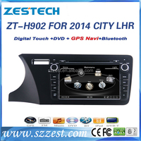 ZESTECH LHD car audio system for Honda city 2014 car multimedia navigation system HD dvd player for car
