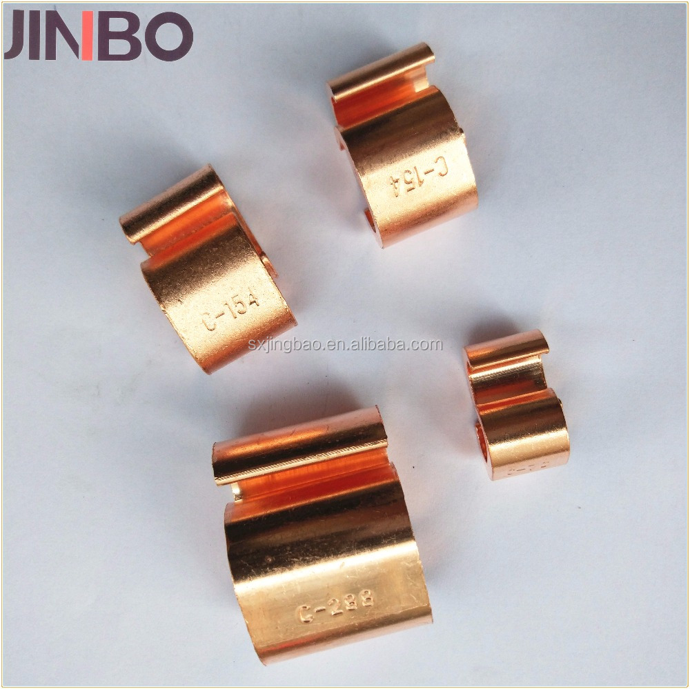 C Type Copper Wire Connecting Clamp Cable Earth Clamp - Buy Metal C ...