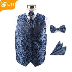 Fashion Mens Wedding Etiquette Waistcoat For Multi Patterns