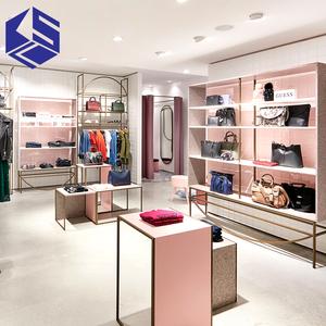 Garment Small Retail Ladies Clothes Shop Design Department Clothing Store Furniture