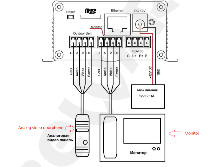 4 Wire Intercom Diagram | Wiring Diagram  Wire Intercom Diagram on