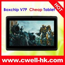 Good price 7 inch Android 4.0 Tablet PC Allwinner A13 1.5GHz