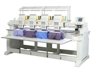 15 colors Four Head Embroidery Machine for Similar to Feiya 4 heads embroidery