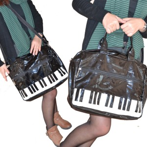 Piano Handbags,PU leather handbags