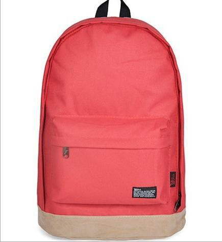Hot 2015 Fashion Schoolbags multicolor unisex shoulders pack computer bag College Students canvas backpack free shipping