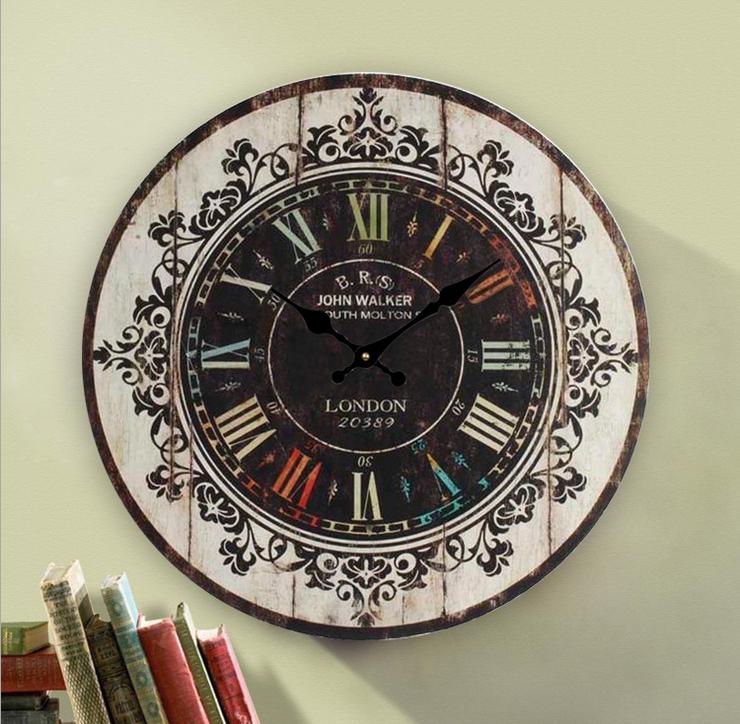 Personalizado de la foto de cristal reloj marco para imprimir ...